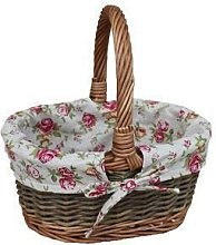 Red Hamper C082R Small Garden Rose Lined Childs