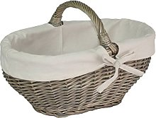 Red Hamper C086W Large Full Antique Wash Tapered