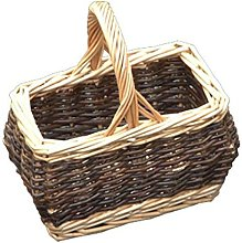 Red Hamper Childs Rectangular Rustic Shopping