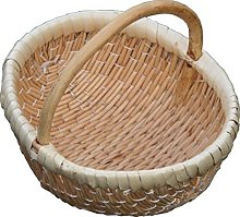 Red Hamper Ellie Shopping Basket, Wicker, Brown,