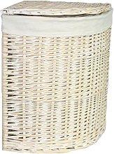 Red Hamper Large Corner Wash Laundry Basket with a