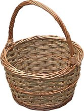 Red Hamper Small Rustic Apple Shopping Basket,