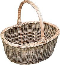 Red Hamper Willow Wicker Small Green Willow