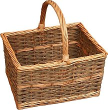 Red Hamper Yorkshire Rectangular Shopping Basket,