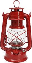 Red Kerosene Retro Style Oil Lantern