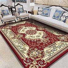red Large Bathroom Rug Living room carpet ethnic