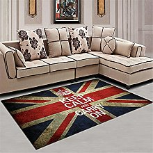 red Large Rug Living room carpet fresh and simple