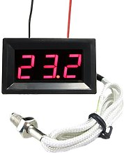 Red LED DC 12V Digital thermocouple Thermometer