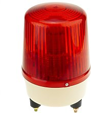 Red LED light 160 mm with rotation effect for