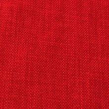RED LINEN LOOK DESIGNER SOFT PLAIN CURTAIN CUSHION