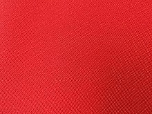 Red Linen Look Upholstery Fabric by The Metre Fire