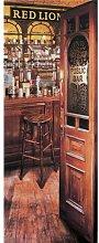 Red Lion Pub 18.45m x 50cm 2 Piece Wallpaper East