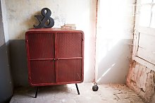 Red Minoterie Cabinet