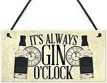 RED OCEAN Gin O'Clock Friend House Warming