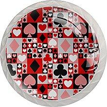 Red Poker, Modern Minimalist Printing Cupboard