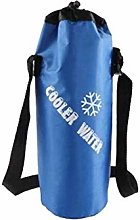 Red Portable Bottle Bag Insulated Thermal Ice