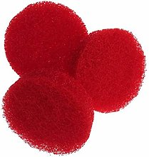Red Power Scrub Pad 15 Piece Cleaning Kit Scouring
