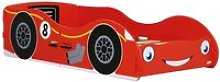 Red Racing Car Children's Toddler Bed Frame -