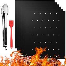 red temp BBQ Grill Mat(6Pcs/Set),Non-Stick