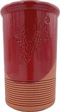 Red Terracotta Wine Bottle Cooler