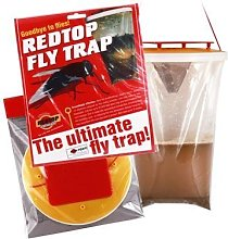 Red Top 5 x Unit DEAL - Tusk Fly Trap