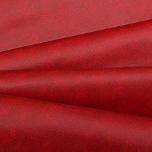 RED VINYL FAUX LEATHER FROM THE FABRIC BARN ,