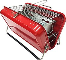 Red Zing Portable Suitcase Style Barbecue