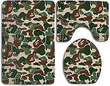 RedBeans Aniaml Bape Camouflage Green Home Set Of