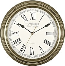 Redbourn 30cm Wall Clock Acctim Colour: Antique