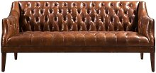 Redd Leather 2 Seater Chesterfield Sofa Williston