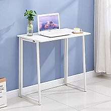 Redd Royal Folding Computer Desk, Collapsible Home