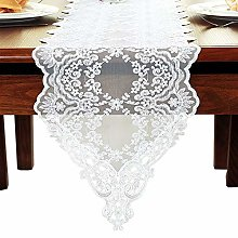 REDDEFE Table Runner,Modern Vintage Embroidered