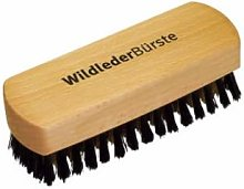 Redecker - 12cm Wooden Suede Shoe Brush With Mixed