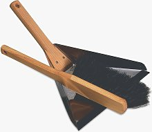Redecker Beech Wood Dustpan & Brush