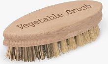 Redecker Vegetable Brush, Brown