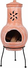 RedFire Fireplace Cancun Clay 86032 - Brown