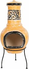 RedFire Fireplace Soledad Clay Yellow/Black 86035