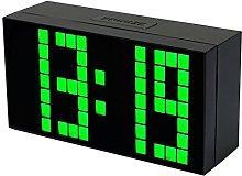 Redlution Digital Big Jumbo Numbers LED Snooze
