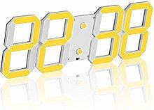 Redlution Large 5 inch alarm clock LED Digital
