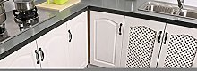 Reebos 2 Pcs Kitchen Rug Set, White Greyhound With