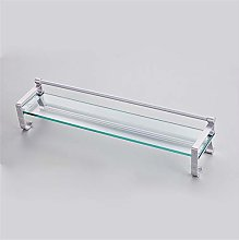 ReedG Bathroom Shelves Wall-mounted tempered glass