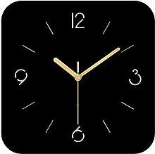 ReedG Wall Clock Minimalist Square Mute Wall Clock