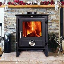 Reepham MultiFuel Fireplace Stove 8KW High