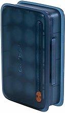 Refow Fridge Egg Holder Storage Box with Cover