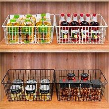 Refrigerator Freezer Baskets Wire Storage Baskets