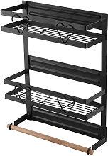 Refrigerator Magnetic Spice Rack Steel Frame