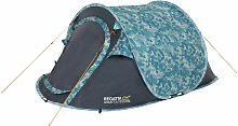 Regatta 2 Man 1 Room Pop Up Tunnel Camping Tent