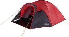 Regatta Kivu 4 Man Double Skin Red Grey Tent