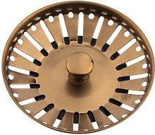 Reginox 90mm Basket Strainer Waste and Flange -