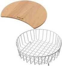 Reginox Chopping Board and Wire Basket Accessory